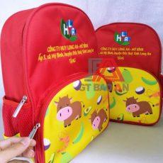 Balo đồng phục quà tặng công ty Huy Long An