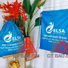 Túi rút quà tặng trung tâm anh ngữ quốc tế ELSA